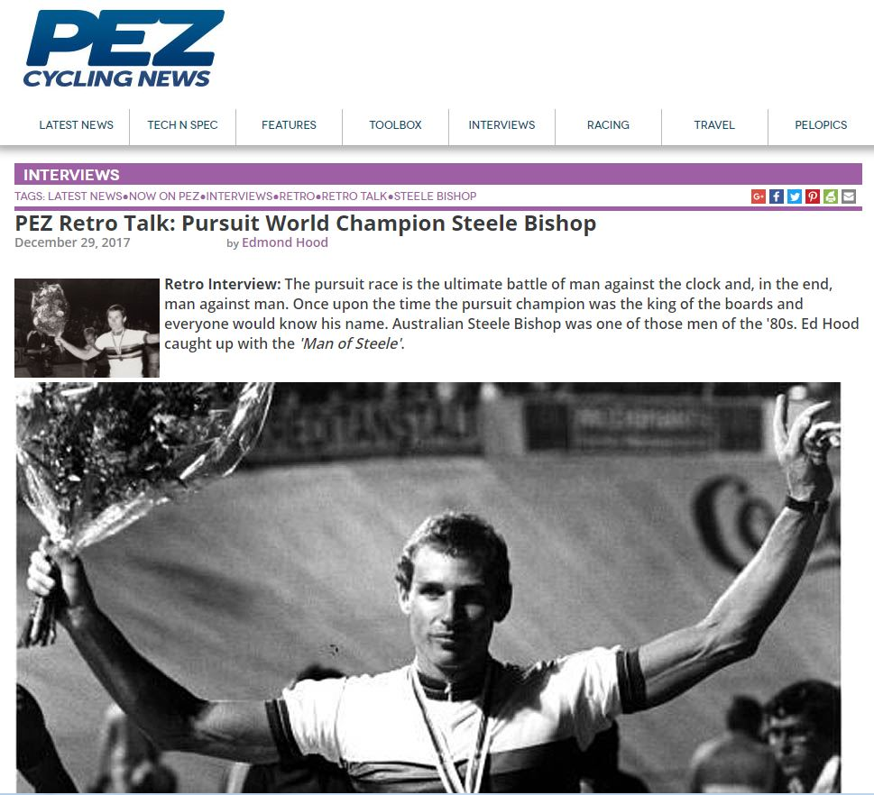 Click here to view the online article in PEZ Cycling News